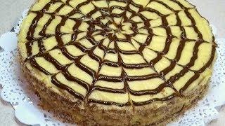 """ВКУСНЕЙШИЙ Знаменитый Торт""""Эстерхази""""- Лучший рецепт в домашних условиях ."""