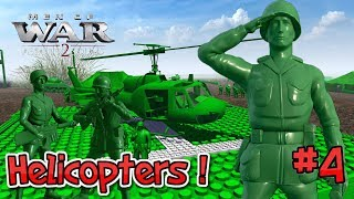 INTENSE TOY HELI ASSAULT ! Army Men Of War : Episode 4 : Operation Blood Puddle (Part 1)