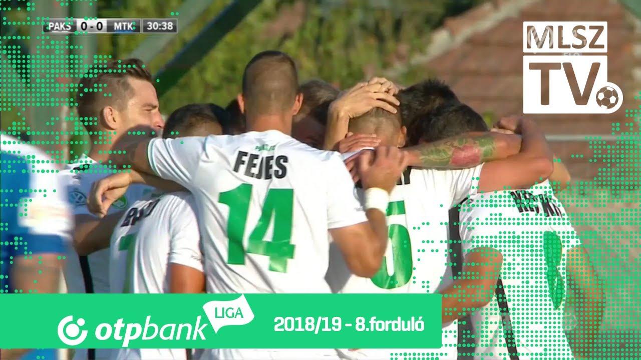 Paksi FC - MTK Budapest | 3-0 (1-0) | OTP Bank Liga | 8. forduló | 2018/2019