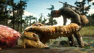 HUNTING THE LEGENDARY ALLIGATOR! | Red Dead Redemption 2
