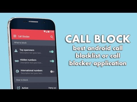 Best Call Blacklist Or Call Blocker Application For Android In 2018