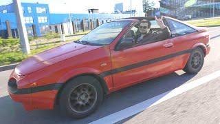 Превратили старый редкий Nissan 100nx в Феррари! ну, почти...