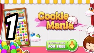 Cookie Mania - Match-3 Sweet Game - ANDROID GAMEPLAY screenshot 2