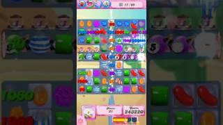 Candy Crush Saga Level 538 - NO BOOSTERS