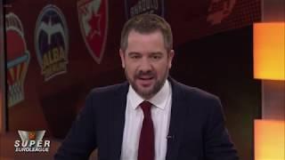Pre Game Show  Super Euroleague Ζενίτ Αγίας Πετρούπολης-Ολυμπιακός, Πέμπτη 23/01