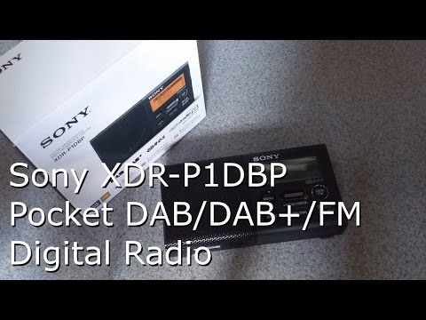 Sony XDR-P1DBP DAB/DAB+/FM Portable Digital Radio