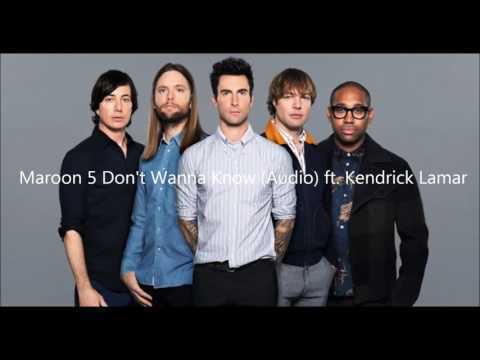 Maroon 5   Don't Wanna Know Audio ft ...