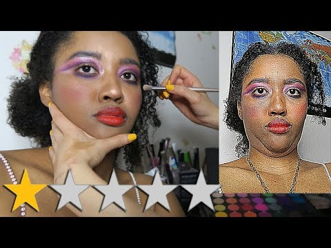 I WENT TO THE WORST REVIEWED MAKEUP ARTIST ON YELP IN MY CITY