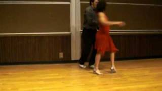 Shezronne and Mike Salsa Dancing Performance