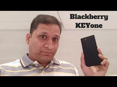 BLACKBERRY KeyOne Limited Black edition Handson