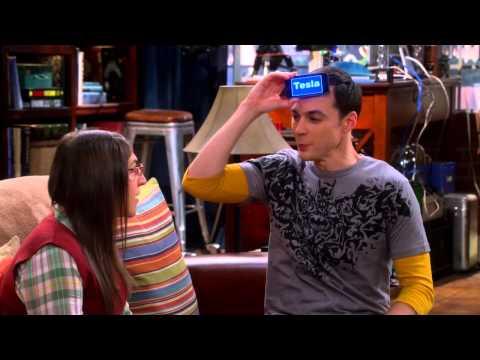 "The Big Bang Theory - Sheldon plays ""Head's Up"" with Amy (Tesla) S08E09 [HD]"