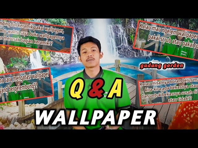 QnA Wallpaper Part 2 082310989451/085287651175 #gorden #wallpaper