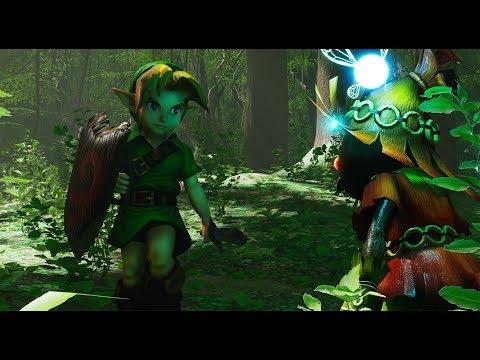 Unreal Engine 4 [4.21] Zelda Ocarina Of Time - Lost Woods + Download Link