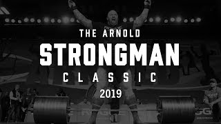 2019 Arnold Strongman Classic | Full Live Stream Day 2 | Event 4 & Rogue Record Breakers