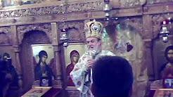 PS Vincentiu - Predica la Biserica Paraclis Episcopal - Sfantul Mare Mucenic Mina