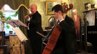 Рейнгольд Глиер - два дуэта для скрипки и виолончели.