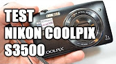 Видеообзор Nikon CoolPix S3500 - YouTube