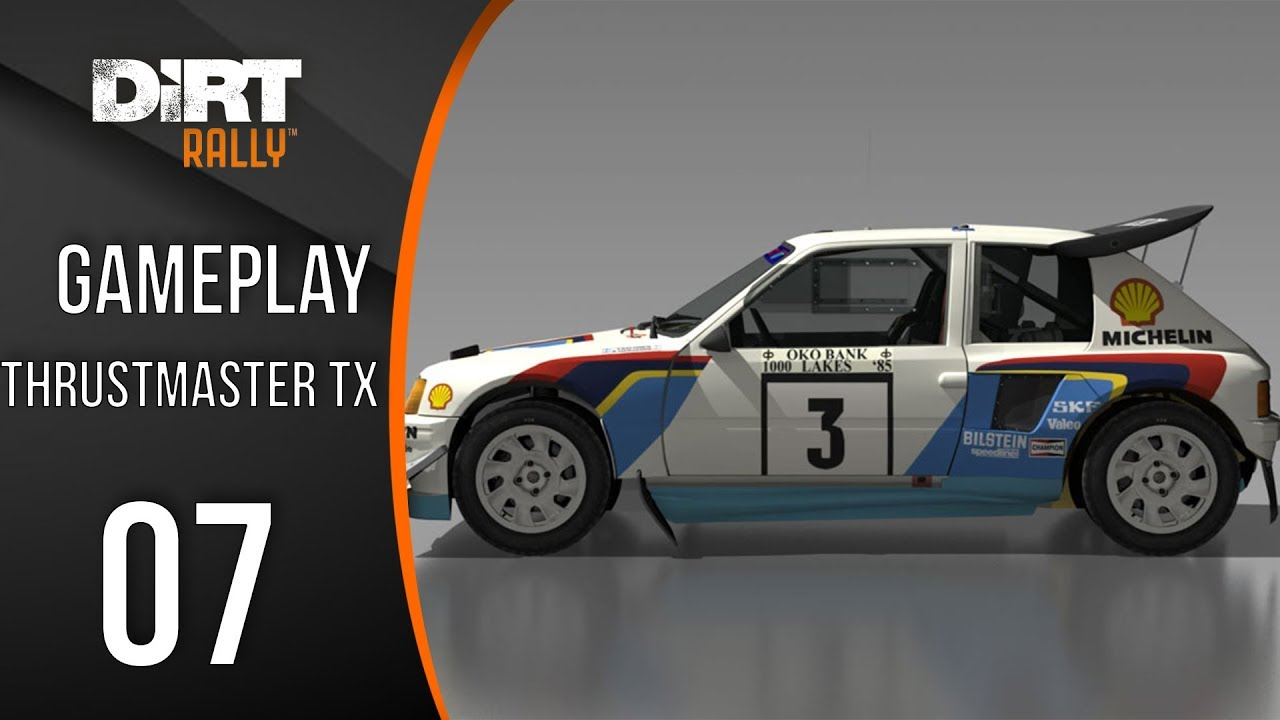 dirt rally 205 t16 gameplay fr ps4 xbox one pc youtube. Black Bedroom Furniture Sets. Home Design Ideas