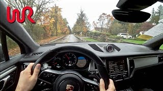 2015 Porsche Macan Turbo - Tedward POV Test Drive (Binaural Audio)