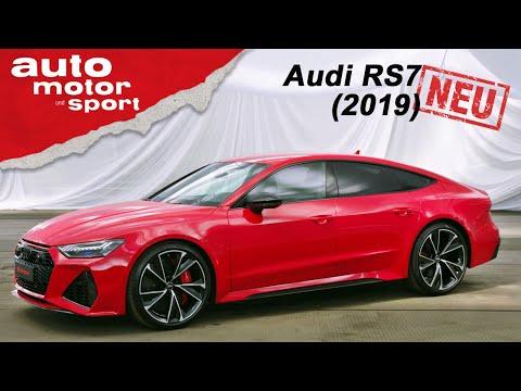 Der neue Audi RS7 Sportback (2019): Erste Sitzprobe in der Power-Limo - Review | auto motor & sport
