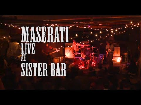 Maserati Live at Sister Bar - ABQ,NM
