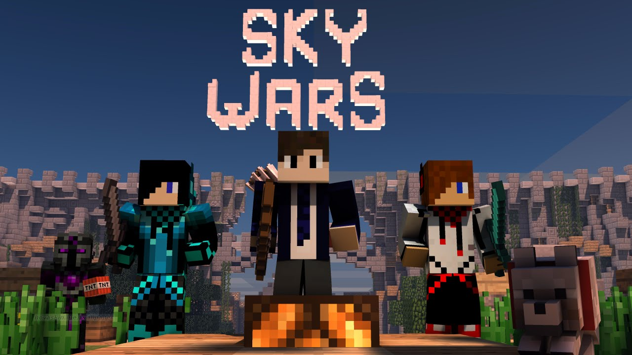 Sky Wars Hypixel #2 - YouTube