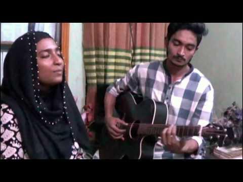 She Je Bose Ache By Arnob |Basirun Bristi & Masud Nobin | Acoustic Cover