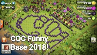 COC Funny Base 2018 Clash Of Clans Hilarious ClashDieFun
