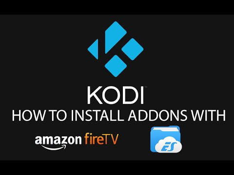 How To Install Kodi Plugins on Fire TV without a computer or ADBFire with ES File Explorer