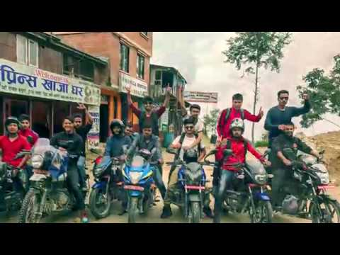 Kathmandu to kakani bad road condition bike trip