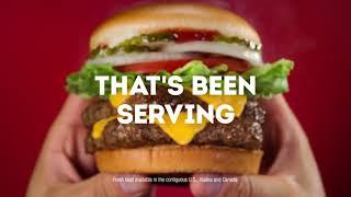 Fresh Beef on Every Hamburger Everyday