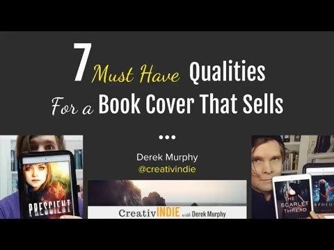 7 must have qualities for a book cover that sells