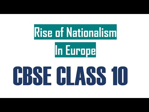 Rise of Nationalsim in Europe | MCQ | Class/Grade 10 | Enlight-CBSE - (Eng & Hindi Subtitles)