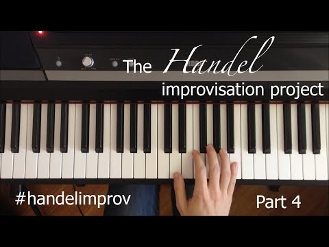 The Handel Improvisation Project, Part 4 || Two-part Counterpoint