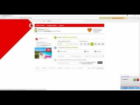 Пополнение баланса Vodafone