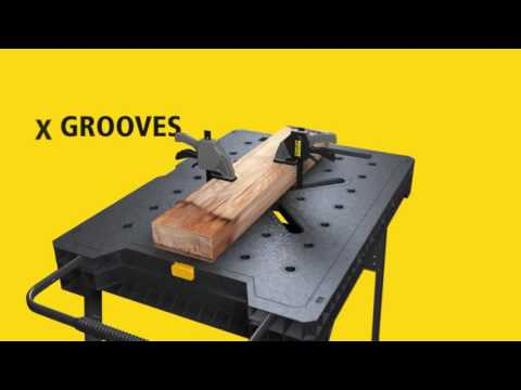 STANLEY® FATMAX® Express™ folding workbench