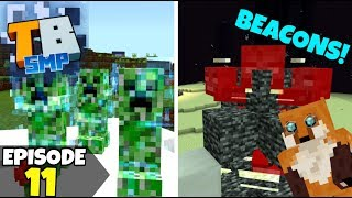 Truly Bedrock Episode 11! Getting Beacons, THE FUN WAY! Minecraft Bedrock Survival Let's Play!