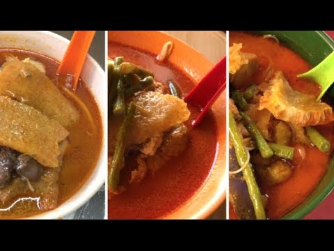 Which Is The Lonely Planet Eatlist Best Curry Laksa?吉隆坡中華巷咖哩叻沙档