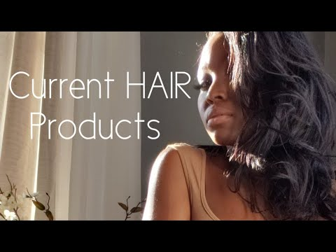 RELAXED HAIR CARE PRODUCTS| Current Minimal Products| Keeping It Basic!