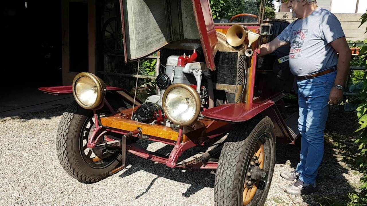 Renault 1910 - begining XX Century - Pre-War Old Car - classic - YouTube