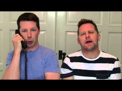 Sean Hayes & Husband Lip Sync Iggy Azalea & Jennifer Hudson's 'Trouble'