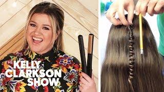 Kelly Clarkson Tries DIY TikTok Life Hacks   Digital Exclusive