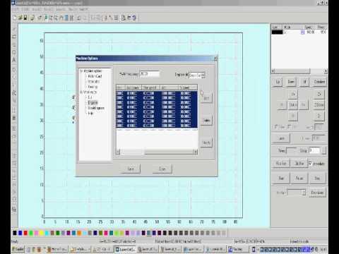 LaserCut 5.3 Software Tutorial Part11 (English) thumbnail