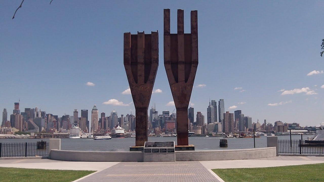 original world trade center trident beams on display youtube