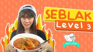 Seblak Favorit Level 3 - Ria's Vlog #11
