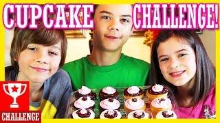 CUPCAKE ROULETTE CHALLENGE!  WITH SRIRACHA HOT SAUCE!!  |  KITTIESMAMA