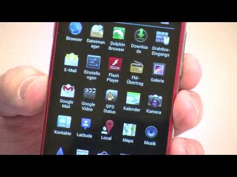 """simvalley MOBILE Dual-SIM-Smartphone SP-360 DualCore 4.7"""", rot"""