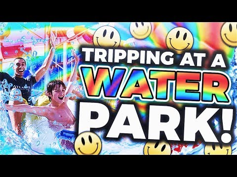 Acid Trip At A Water Park
