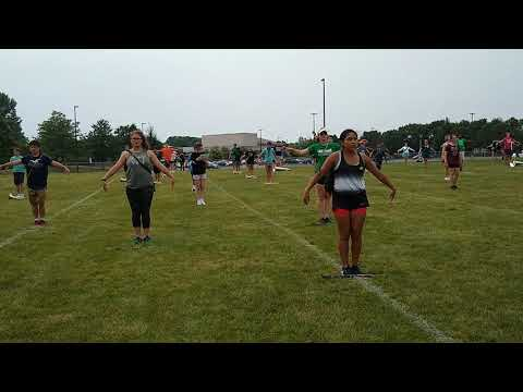 Dublin Scioto High School's marching band