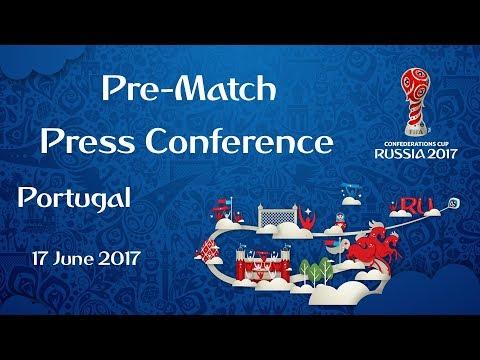 POR v. MEX - Portugal Pre-Match Press Conference